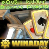 Double Double Bonus Poker video poker at WinADayCasino