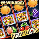 WinADays New Fruitful 7s online slot machine goes back to basics at no download casino