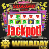 Retired Woman Hits Online Slot Machine Jackpot at WinADayCasino.com no download casino games