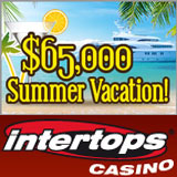 Intertops Casino Awarding 65K in Summer Vacation Casino Bonuses