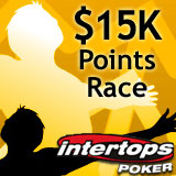 Intertops Poker to Award 15K in Prize Money in its Richest FPP Races Ever
