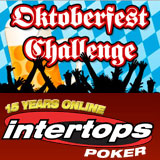 Intertops Poker Celebrates Oktoberfest with $20000 in Cash and Three Freeroll Tournaments