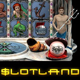 Slotland no download casino adds Pearls of Atlantis online slot machine