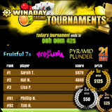 WinADay Online Slot Tournaments Already Paying Out Daily Cash Prizes