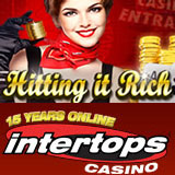 Intertops Casino giving 70K in casino bonuses this month