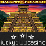 Lucky Club Presents Jackpot Pyramid Bonus Game Feature