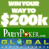 Online Forum Challenge poker tournaments at Party Poker