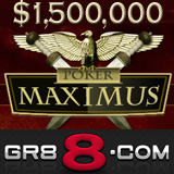 GR88 hosts Million Dollar Poker Maximus Poker Tournament