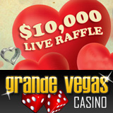 Grande Vegas Casino Players Get Free Tickets Live Raffle