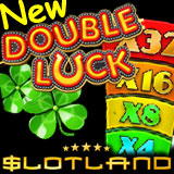 New Double Luck Slot Machine at Slotland has Bonus Feature with 32x Multiplier