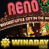 WinADay Casino Dream Vacation Prize Slot Machine Games  Winner Taking Friends to Reno Nevada