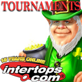 St Patrick Free Rolls and Guaranteed Tournaments at Intertops Poker Tourneys