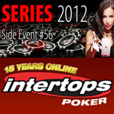 Main Event and Side Event satellite tournaments at Intertops Poker