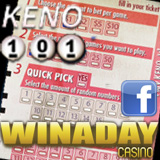 WinADay Player Reviews New Online Keno Game and Offers Keno Tips in Facebook Article