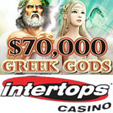 Intertops Casino 70K Greek Gods Casino Bonuses
