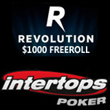 Intertops Celebrates Poker Network Transformation With Revolution Freeroll Tournament and Reload Bonus