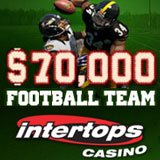 Intertops Casino Kicks Off Football Season with Casino Bonus Giveaways