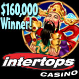 Intertops Casino Player Wins Over 160K in Two Days Playing