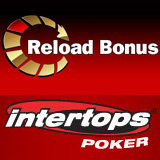 Intertops Poker Giving Reload Bonus This Weekend