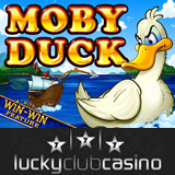 Lucky Club Casino New Moby Duck Slot has Win-Win Feature for Payouts during Bonus Round