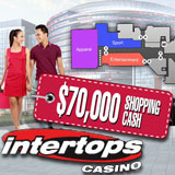 Intertops Casino 70K Shopping Cash Bonuses Just in Time for Christmas Bargain Hunting