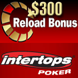 Intertops Poker Giving Reload Bonus This Weekend as Prague Satellites Continue