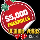 Grande Vegas Casino Freeroll Slots Tournaments Holiday Prizes