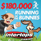 Running of the Bunnies Casino Bonus Contest Now On at Intertops Casino