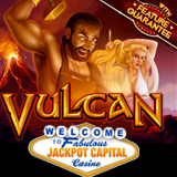 Jackpot Capital Casino New Vulcan Slot Game is Generous with Free Spins and Prize Multipliers