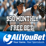 AllYouBet  Giving Major League Baseball Bettors a MLB Free Bet