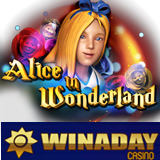 WinADay Casino New Alice in Wonderland Slot Game is a Magical Journey Down the Rabbit Hole