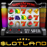 Slotlands New Super Sevens Fruitie is Generous with Free Spins