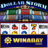 New Dollar Storm Slot Game has Bonus Game Featuring Free Spins and Prize Multipliers -- Free Chip This Weekend