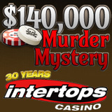 Intertops Casino Offers Casino Bonus Rewards to Solve Murder of Roulette Player