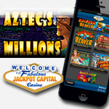 Million Dollar Jackpot Game Aztecs Millions Now Available for Jackpot Capital Mobile Casino Players