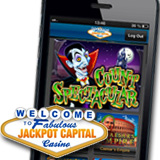 Jackpot Capital Casino Adds Count Spectacular Slot Game to its Mobile Casino for iPhones and iPads