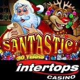 New Santastic Online Slot with Festive Feast Bonus Game Begins a Great Holiday Season at Intertops Casino