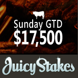 Juicy Stakes Throws More Money into the Pot this Weekend for Sunday GTD Tournament