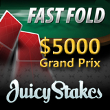 Juicy Stakes Launches Speed Poker Game with Fast Fold Grand Prix