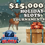 15K Christmas Slots Tournaments Continue to Offer a Festive Feast of Fun at Liberty Slots