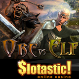 Slotastic Transports Players to Middle Earth in New Orc vs Elf Slot Game RTGs First 3D Game