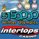 Intertops Casino Makes Slots and Table Games Olympic Events with its $150,000 Winter Olympics Bonuses