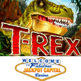 Monstrous New T-Rex Slot Game Gives Jackpot Casino Mobile Players More Choices and 20 Free Spins