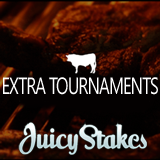 Juicy Stakes Poker Hosting Extra Freeroll and Guaranteed Tournaments This Weekend and Withdrawal Fees Reduced for Frequent Players
