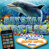 Jackpot Capital Mobile Casino Giving Free Spins and Bonus Cash to Undersea Adventurers Trying New Crystal Waters Mobile Slot