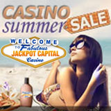 Sizzling Steals Boost Players Scoreboard Ranks during Jackpot Capital Casino Bonuse Summer Sale