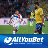 AllYouBet Bookmaker Backs Brazil to Knock Chile Out of World Cup