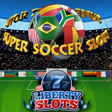 Liberty Slots Gives Football Fans Free Money to Try its New Super Soccer Slot Game as Free Roll Slots Tournaments Continue on New Game