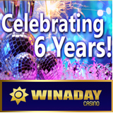 WinADay 6th Birthday Begins New Mobile Casino Era for Unique Real Money Online Slots Site