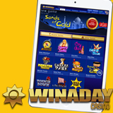 WinADay Casino New Tap-and-Swipe Mobile Casino features 11 Mobile Slots Games
